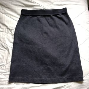 MARIE SAINT PIERRE Grey Pencil skirt Sz: L/US12